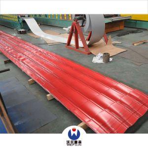 Corrrugated Feuille de matériau de construction en acier galvanisé panneau tuile de toit
