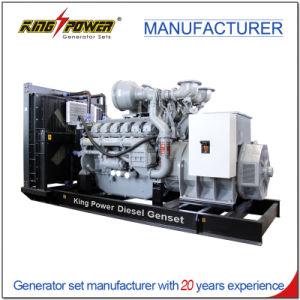 800kw Gerador eléctrico de gasóleo equipado com motor Perkins Stamford Alternador