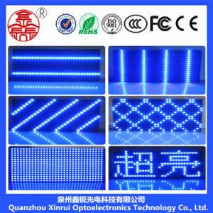 Для использования внутри помещений P10 Single-Blue светодиодный дисплей
