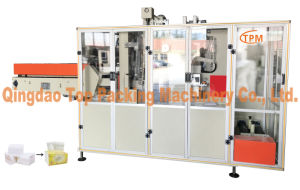 Tejido automática máquina de envoltura cara Máquina de embalaje de papel