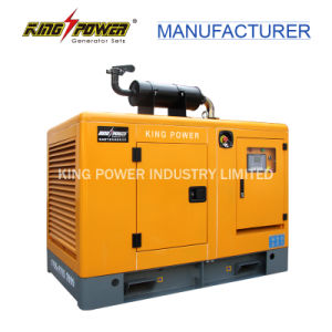 leiser Generator-Hersteller des Erdgas-120kw mit Cer