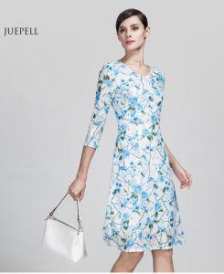 Vestidos tejidos de dama elegantes
