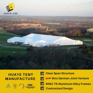 Grande tenda de alumínio com tecidos de PVC branco para casamento festa de eventos ao ar livre para as vendas a quente (HAF 20M)