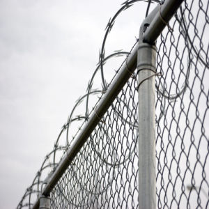 Filo galvanizzato del rasoio di Contertina per la barriera di sicurezza della prigione dell'aeroporto