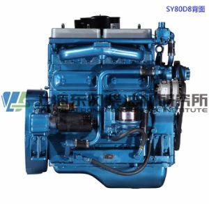 6 cilinder, 227kw, de Dieselmotor van Shanghai Dongfeng voor Generator Set