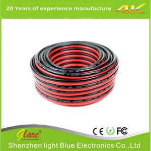 Высокое качество красный и черный кабель динамиков и кабель аудио