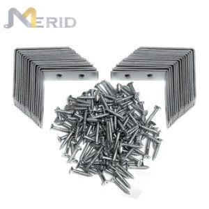 Custom оцинкованные стальные кронштейны крепления угловой стойки с помощью винтов
