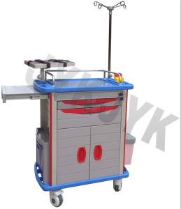 Carrinho de Emergência Jyk ABS médico-C10b