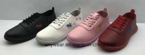 La calidad barato Damas Calzado de moda de inyección de poliuretano confort zapatos para mujer (749)