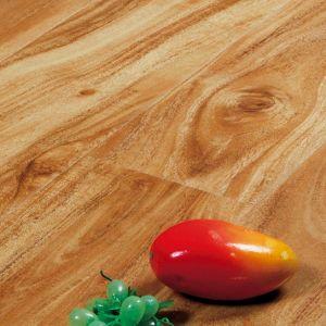 precio de fábrica de 8mm Piso Laminado tablón de madera para interiores, pavimento de tierra