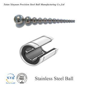 Bille en acier inoxydable 316L pour le palier linéaire de 5/32 pouce 3.969G100 mm