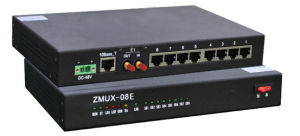 Zmux-08e Mini-PCM-Mehrfachkoppler (Tischmodell) 8 Kanäle über E1