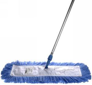 Mop di polvere piano del pavimento dell'OEM Microfiber