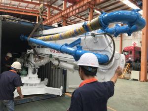 構築のための13mの小型分配機械はタワークレーンによって持ち上がった