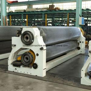 Cinco camadas de alta velocidade da linha de tomada de Placa Corrugation