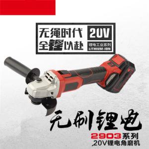 Bateria de Lítio de carga 20V Mini Rectificadora angular sem fios eléctricos