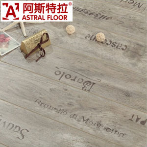Madera de 8mm y 12mm de la superficie de la Seda con piso laminado impermeable