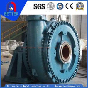 ISO/Ce genehmigte Bagger-Pumpe/Anti-Abschleifende zentrifugale Schlamm-Pumpe für pumpende Sand-/Goldkonzentration