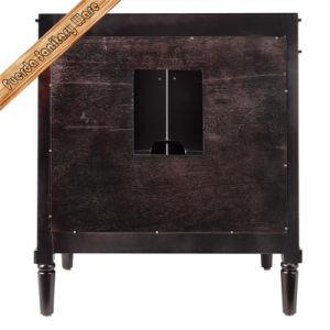 Alimentados-301b Café Espresso em madeira maciça Cupc Pia moderna casa de banho vaidade