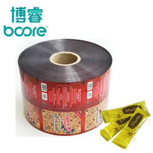 Los envases de alimentos de la bolsita de plástico laminado Bolsa Film para aperitivos dulces torta