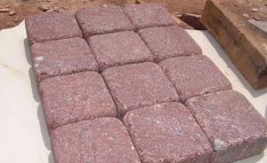 Natuurlijke Rolling Cobble van het Graniet Steen voor OpenluchtBestrating