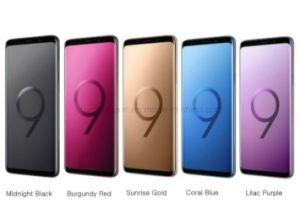 Original desbloqueado nuevo S9 teléfono móvil celular teléfono inteligente