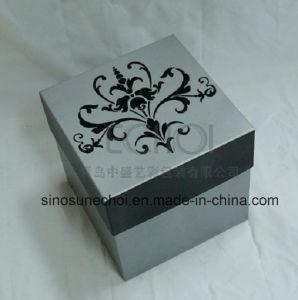 El alto grado de cartón Caja de regalo personalizado de chocolate con cinta