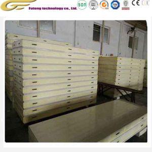 Poliuretano (PU) Arrastões congeladores Painel do tipo sanduíche da Placa de armazenamento a frio