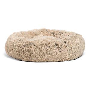 Luxury Shag Fuax Donut Cuddler Peles (vários tamanhos) Cama Pet