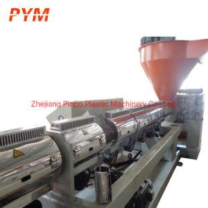 PP PE de recyclage des déchets en plastique de la machine de l'extrudeuse