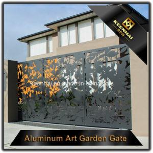 Cancello di giardino decorativo del metallo del taglio del laser