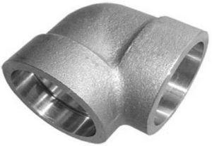 Accessori per tubi della saldatura dello zoccolo del gomito del tubo da 90 gradi