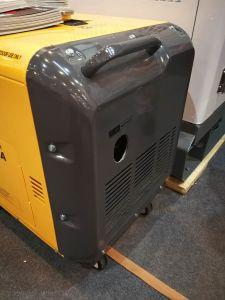 Generatore portatile elettrico silenzioso diesel freddo dell'aria di Kp9500dgfn 7.5kw