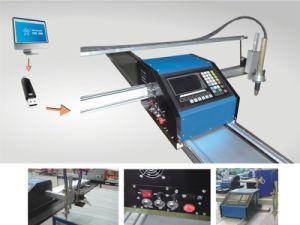 Plasma CNC cantiléver portátil ou chama de gás de corte para placa de metal