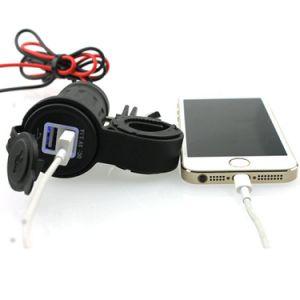 2 Puerto Mini USB doble de carga rápida Adaptador de cargador de coche