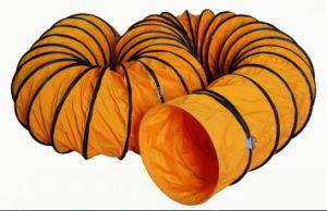32 بوصة [أم] حرارة نار - مقاومة [بفك] [أير بلوور] أنابيب تهنية مرنة [دوكتينغ] يحمل خرطوم مع حقيبة