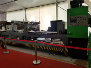 Tinta automático de la impresión flexo engranan Troquelado pegado uniendo el apilamiento de máquina en línea