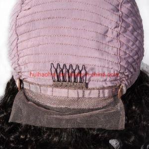 Couleur naturelle 100% Remy Virgin cheveux indien brésilien pour l'organisme de droit d'onde Onde profonde de la Dentelle perruque Full Lace Wig frontale