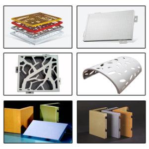 20 ans de garantie externe et l'intérieur de l'aluminium panneau acoustique