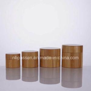 プラスチック内部のびん(PPC-BS-034)が付いているすべてのタケ装飾的な容器の瓶