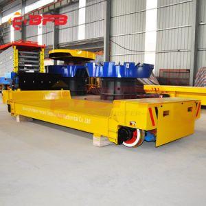 2019 La Chine alimenté par batterie à plat la manutention des matériaux industriels Rail électrique chariot de transfert