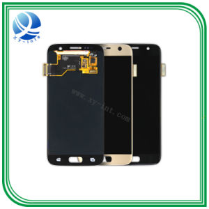 La pantalla táctil LCD de pantalla Samsung S7