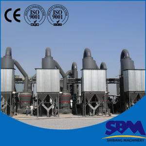 ミネラル製造所のためのMtwシリーズミネラルプロセス用機器
