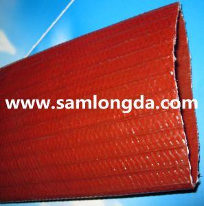 Manguera de descarga Layflat PVC azul para el riego (LF10)