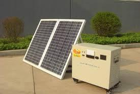 L'énergie solaire générateur (100W)
