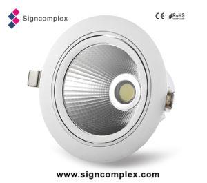 Lampade rotative della PANNOCCHIA LED del chip 120lm/W della Cina Epistar residenziali