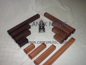 Bagpipes Ebony et bois noir / Clarinette Bois