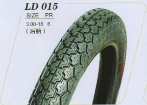 点の金品質(3.00-18)の公認の天然ゴムのオートバイのタイヤ