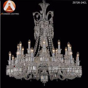 24 лампы Baccarat хрустальная люстра подвесной светильник для интерьера