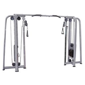 L'esercitazione commerciale di concentrazione dell'incrocio del cavo lavora la forma fisica alla macchina della strumentazione di ginnastica